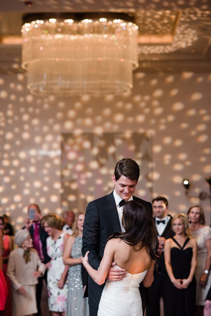 First dance at Langham Hotel Chicago