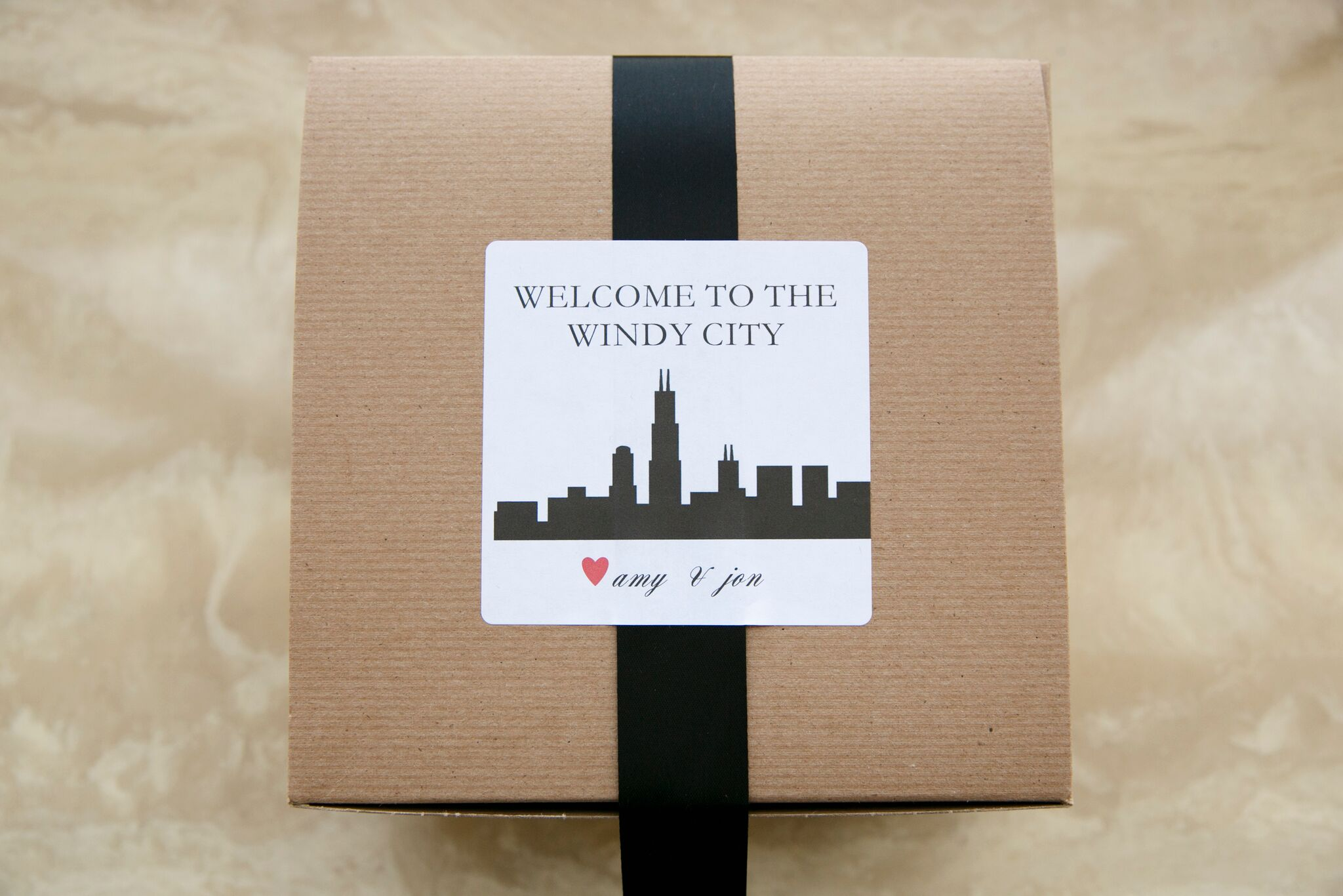 chicago welcome boxes for wedding
