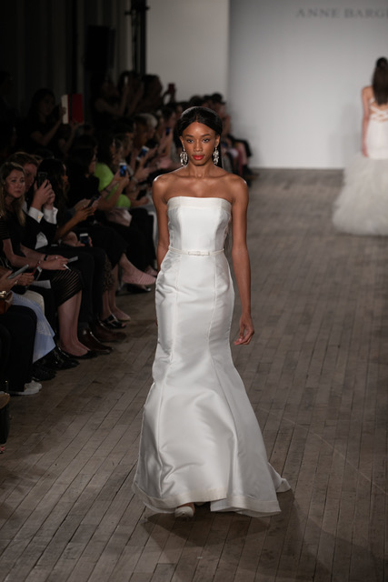 Anne Barge Strapless Wedding Dress Spring 2019 SQN Events by Collin Pierson Photography
