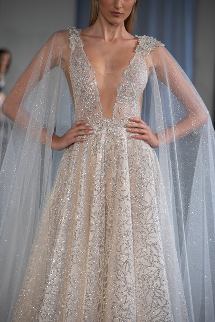 BERTA Sparkle Wedding Dress Spring 2019 SQN Events by Collin Pierson